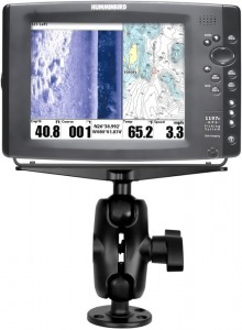 RAM MOUNT UCHWYT DO ECHOSONDY GARMIN, LOWRANCE, HUMMINBIRD DŁ.3,5 CALAU